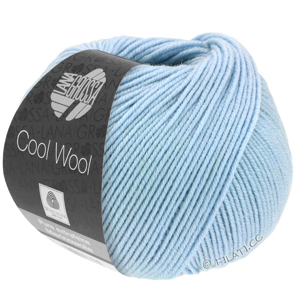 Lana Grossa COOL WOOL   Uni/Melange/Neon | 0430-голубой