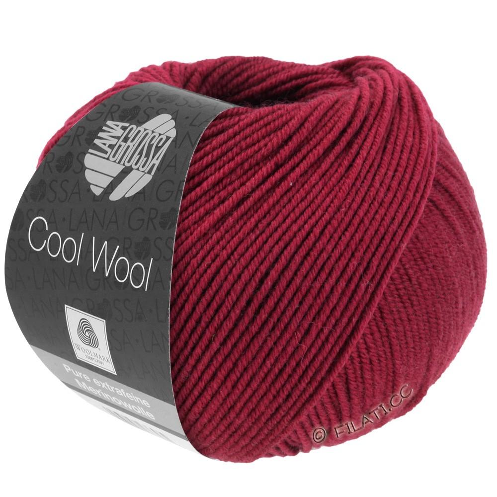 Lana Grossa COOL WOOL   Uni/Melange/Neon | 0468-красное вино