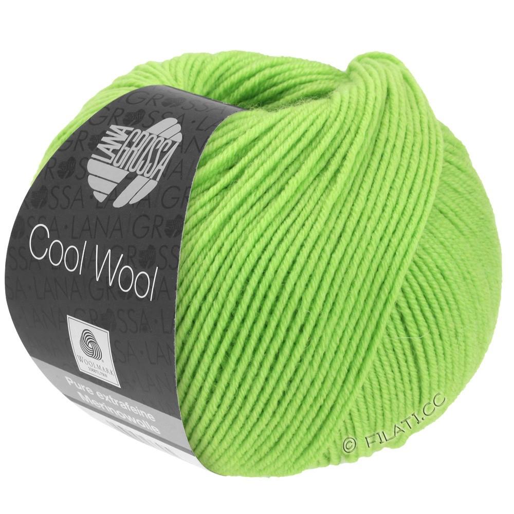 Lana Grossa COOL WOOL   Uni/Melange/Neon | 0509-светло-зелёный