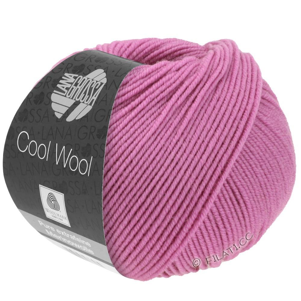 Lana Grossa COOL WOOL   Uni/Melange/Neon | 0530-фуксия