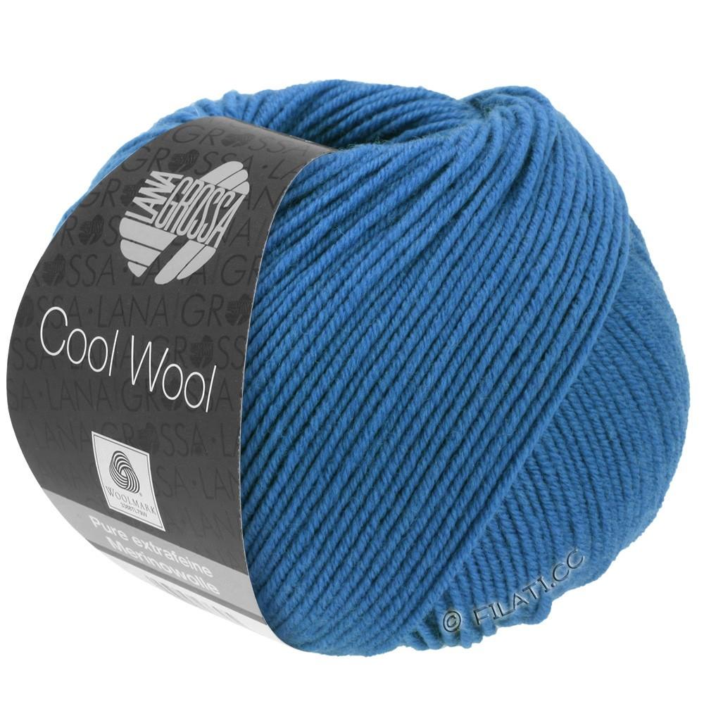 Lana Grossa COOL WOOL   Uni/Melange/Neon | 0555-синий кобальт