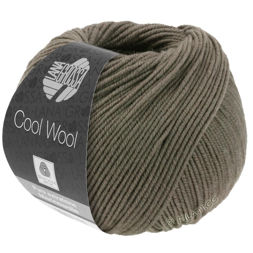 Lana Grossa COOL WOOL   Uni/Melange/Neon | 0558-серо-коричневый