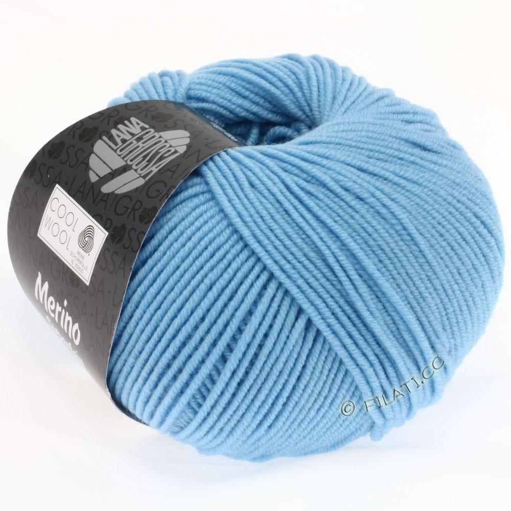 Lana Grossa COOL WOOL   Uni/Melange/Neon | 0572-средне-синий