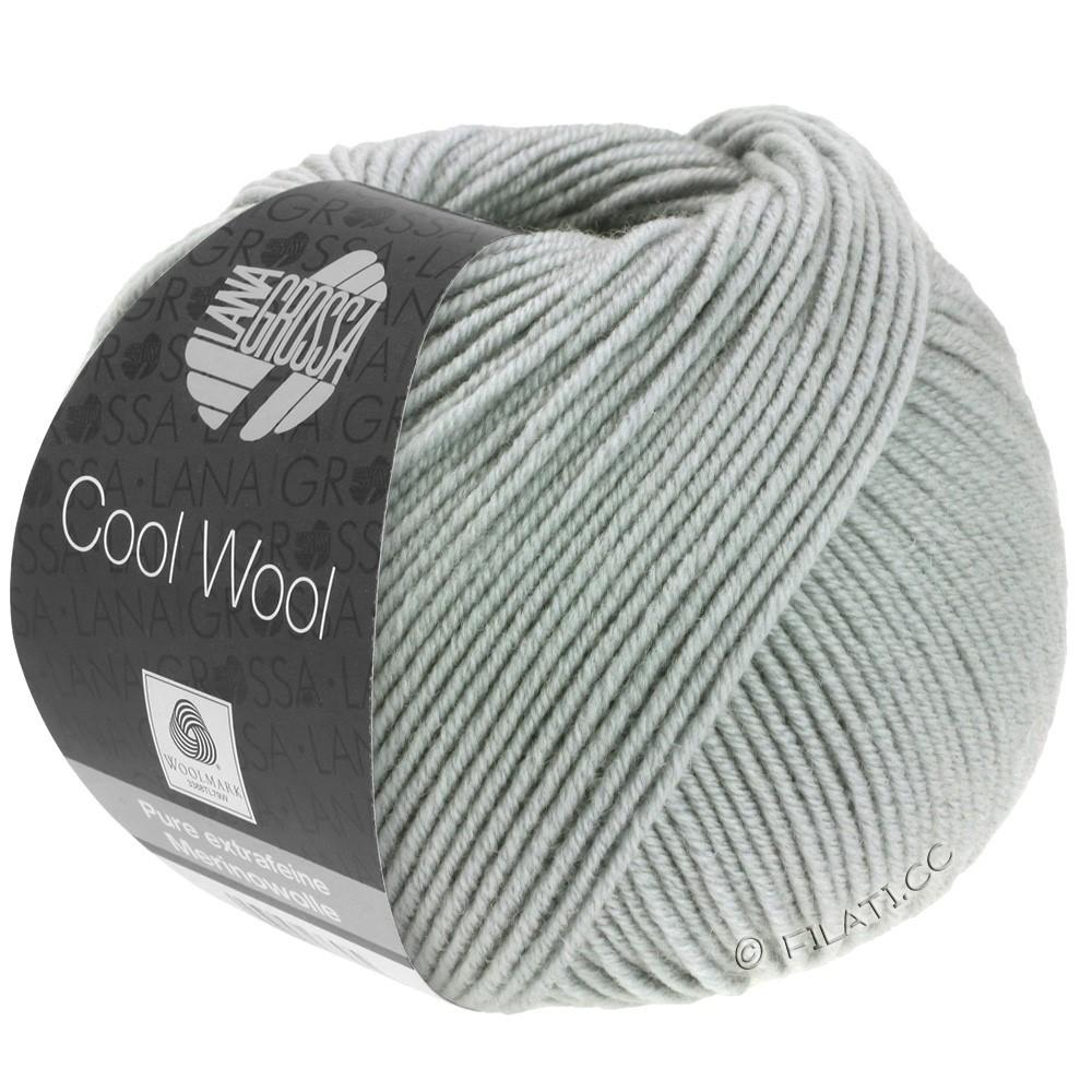 Lana Grossa COOL WOOL   Uni/Melange/Neon | 0589-серый камень