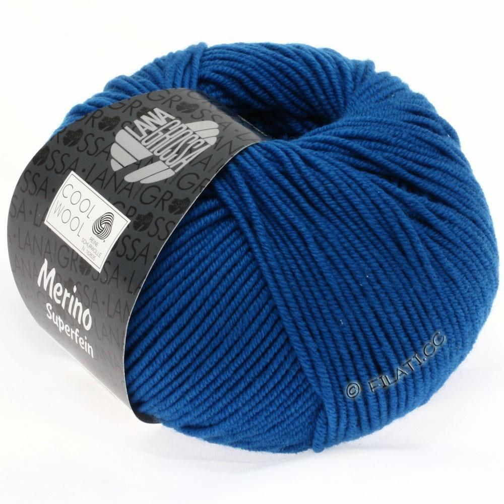 Lana Grossa COOL WOOL   Uni/Melange/Neon | 0598-петроль синий