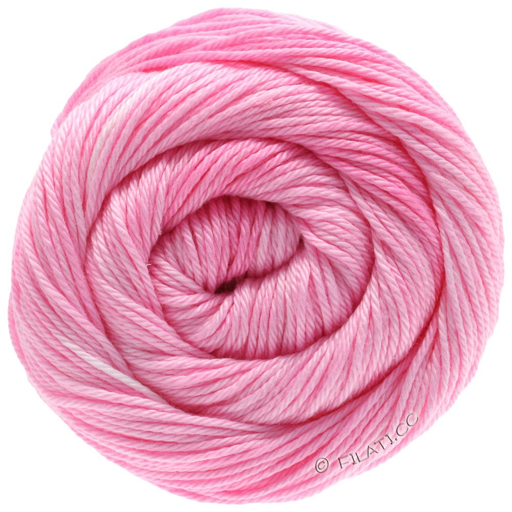 Lana Grossa COTONE Degradé | 202-розовый/гвоздика