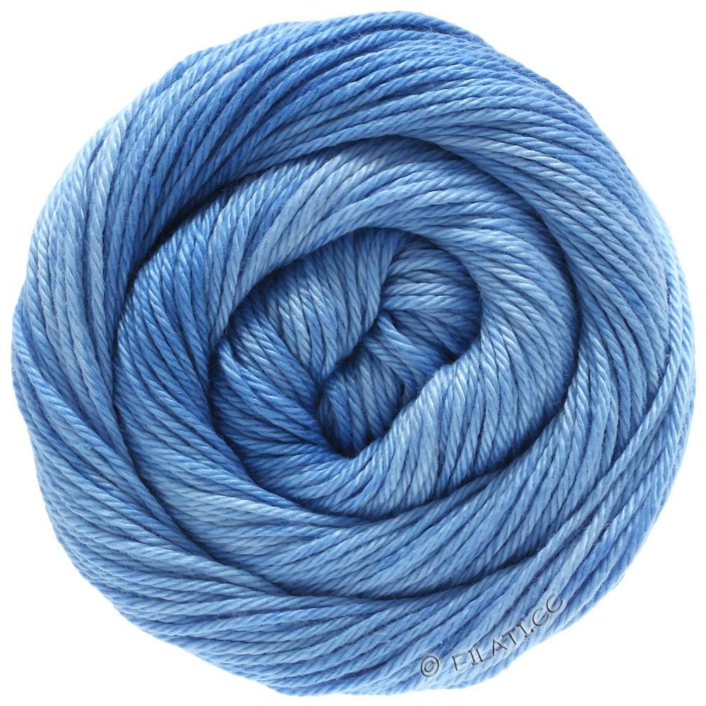 Lana Grossa COTONE Degradé | 208-светло-голубой/синий, как небо/синий