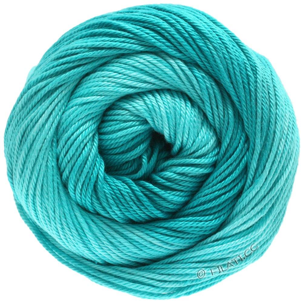 Lana Grossa COTONE Degradé | 212-светлый сине-голубой/тёмно сине-зеленый