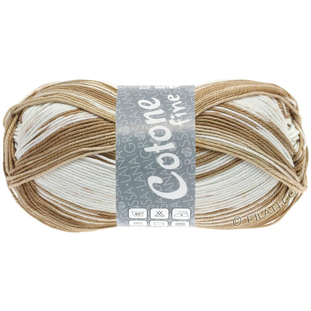 Lana Grossa COTONE FINE Print | 808-светло-бежевый/песок/