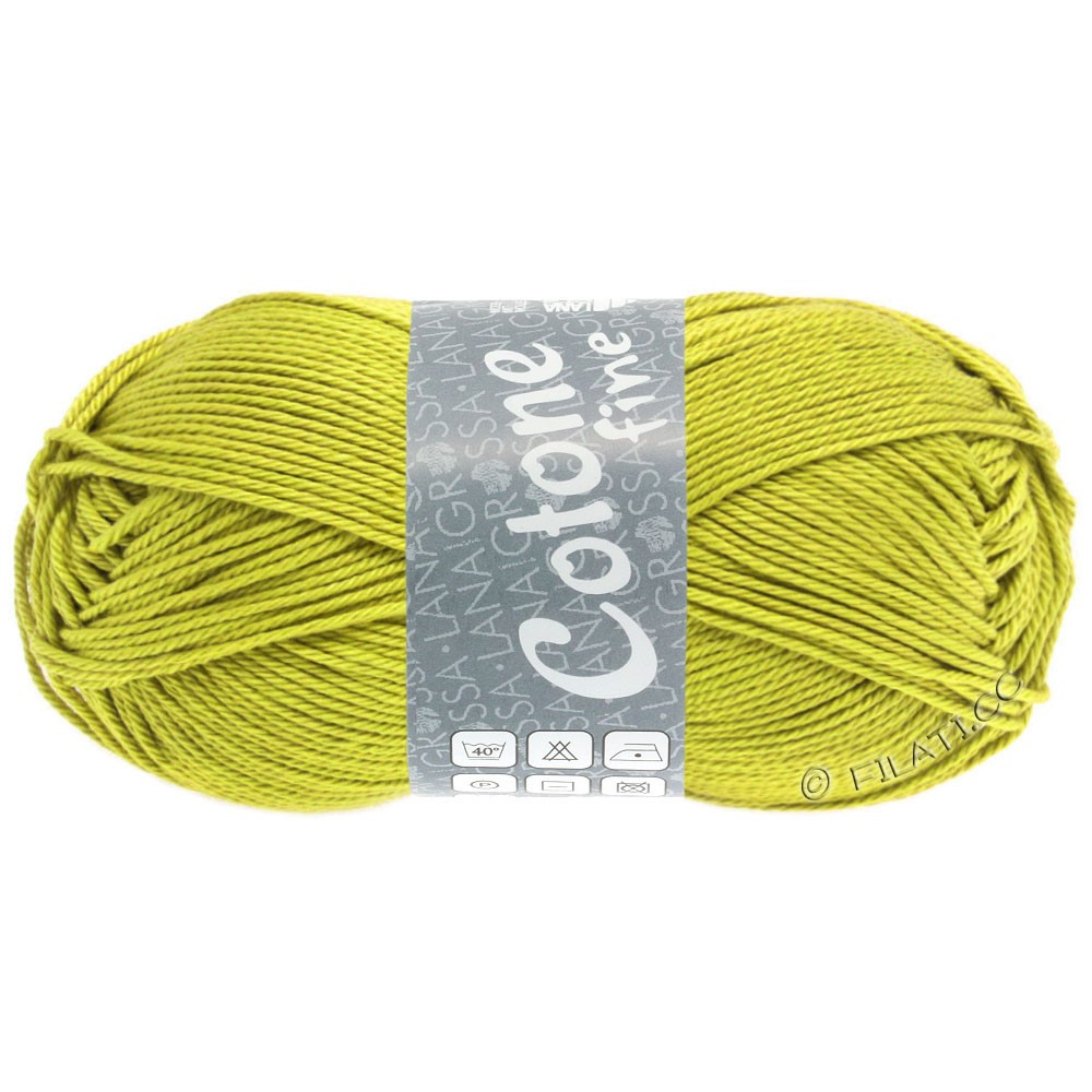 Lana Grossa COTONE FINE | 653-горчичный