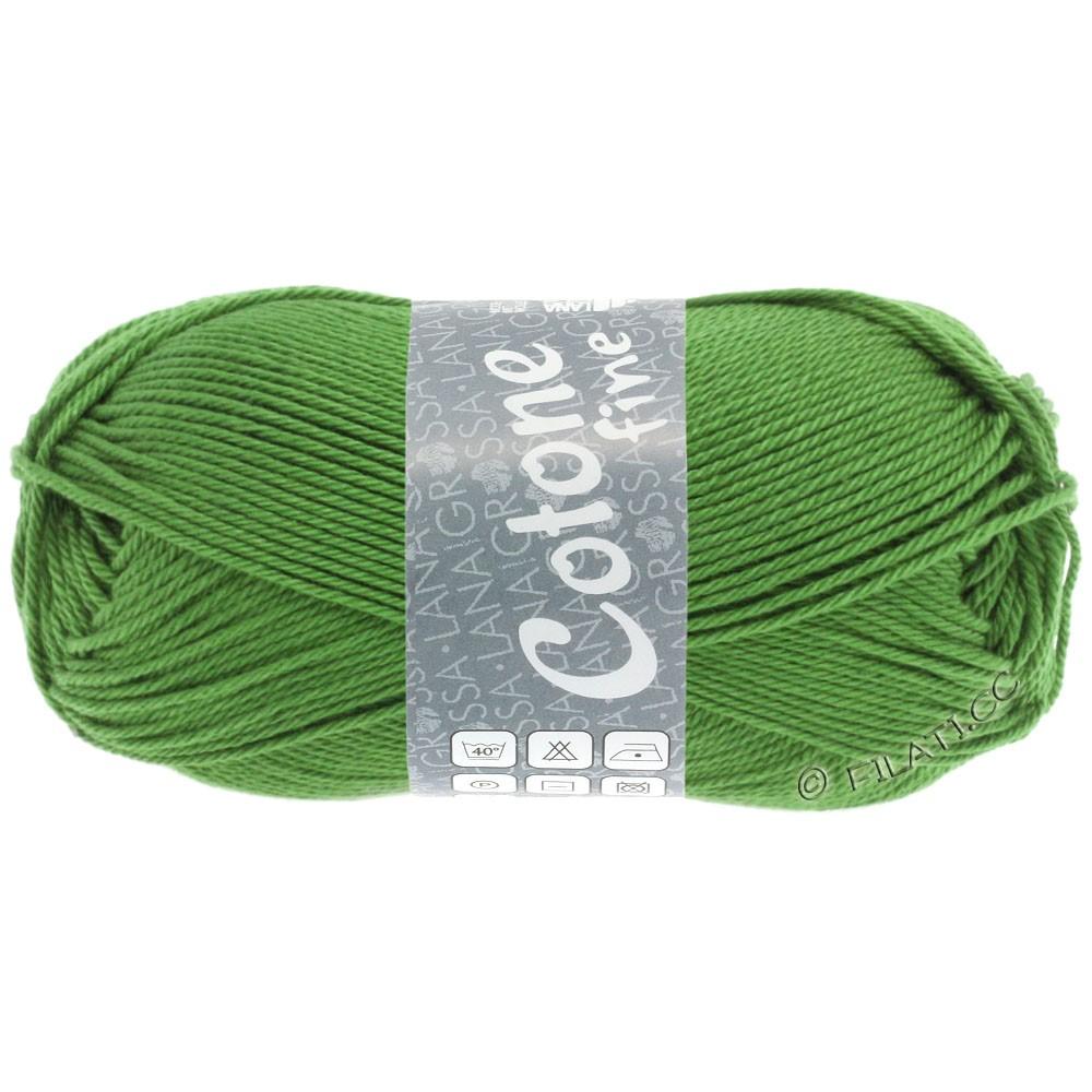 Lana Grossa COTONE FINE | 654-зеленый, как папоротник