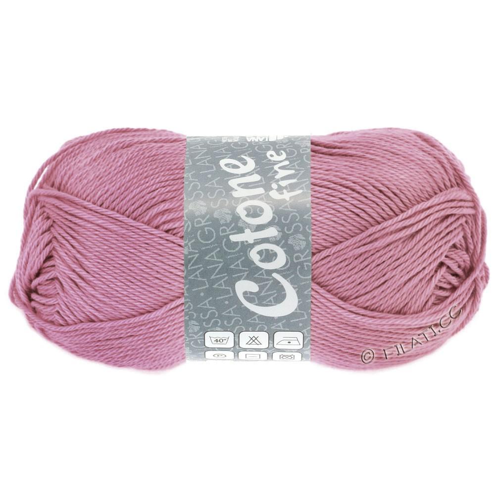 Lana Grossa COTONE FINE | 657-ветхо-розовый