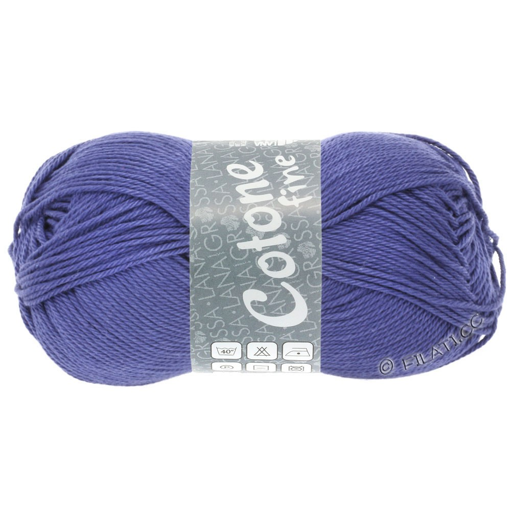 Lana Grossa COTONE FINE | 662-синяя фиалка