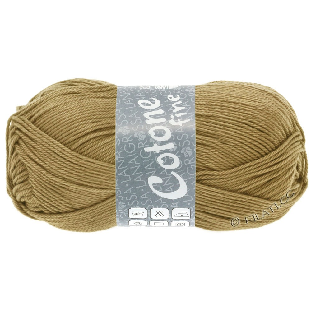 Lana Grossa COTONE FINE | 667-легко коричневый