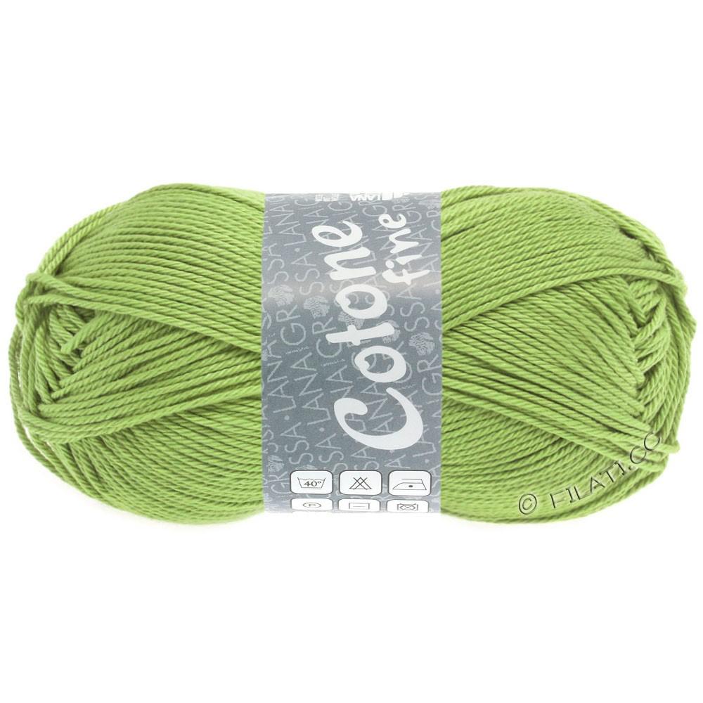 Lana Grossa COTONE FINE | 673-пастельно-зелёный