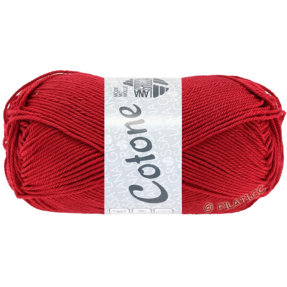 Lana Grossa COTONE | 18-красный