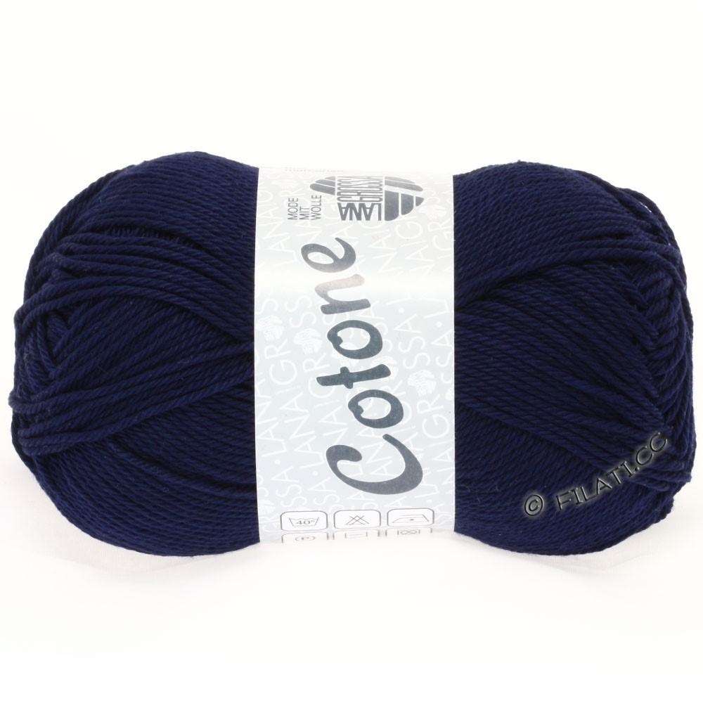 Lana Grossa COTONE | 20-тёмно-синий