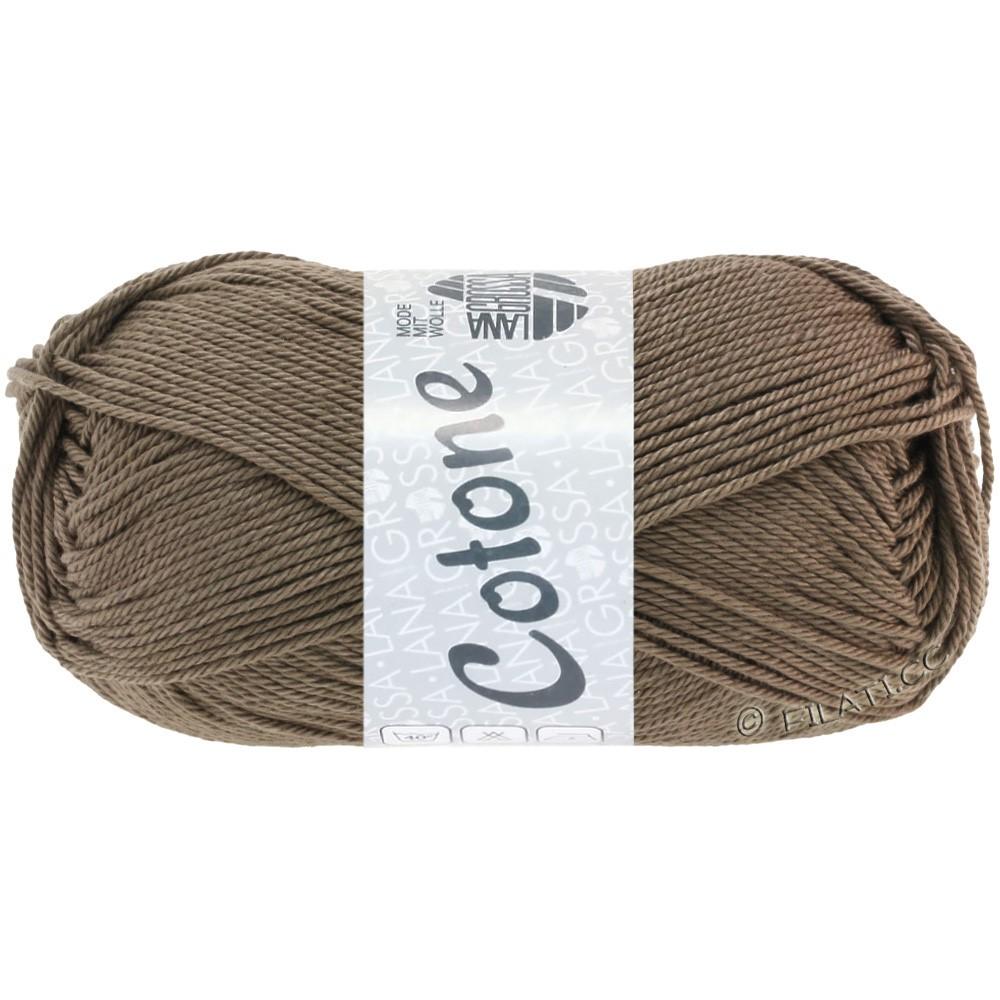 Lana Grossa COTONE | 30-серо-коричневый