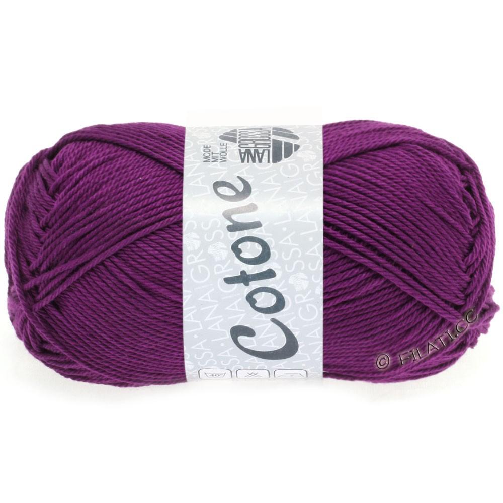 Lana Grossa COTONE | 45-тёмно-фиолетовый