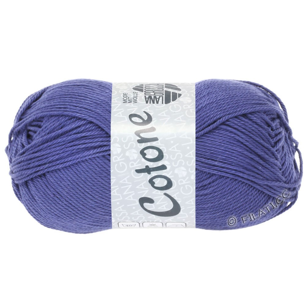 Lana Grossa COTONE | 62-синяя фиалка