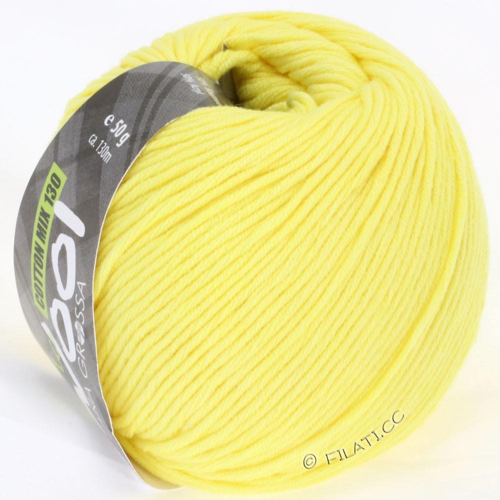 Lana Grossa COTTON MIX 130 (McWool)   108-жёлтый