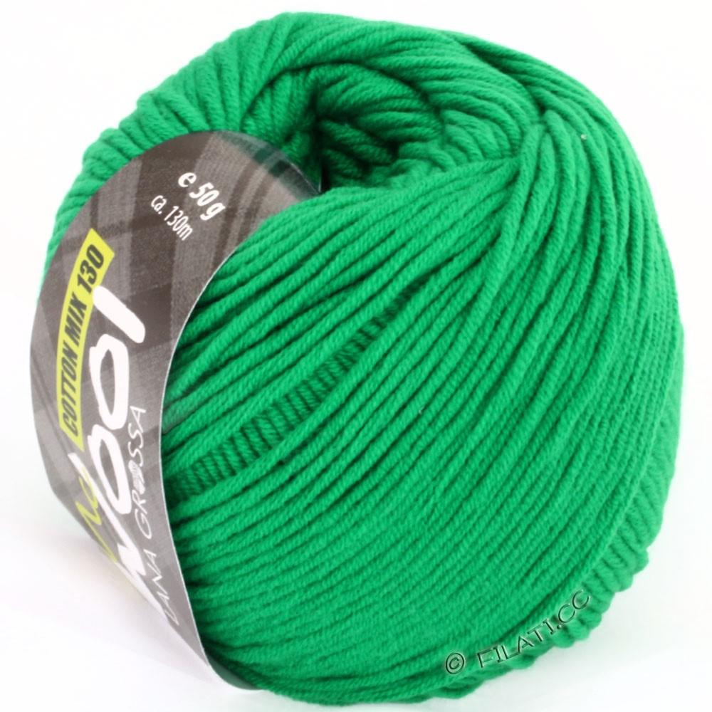 Lana Grossa COTTON MIX 130 (McWool) | 110-зелёный