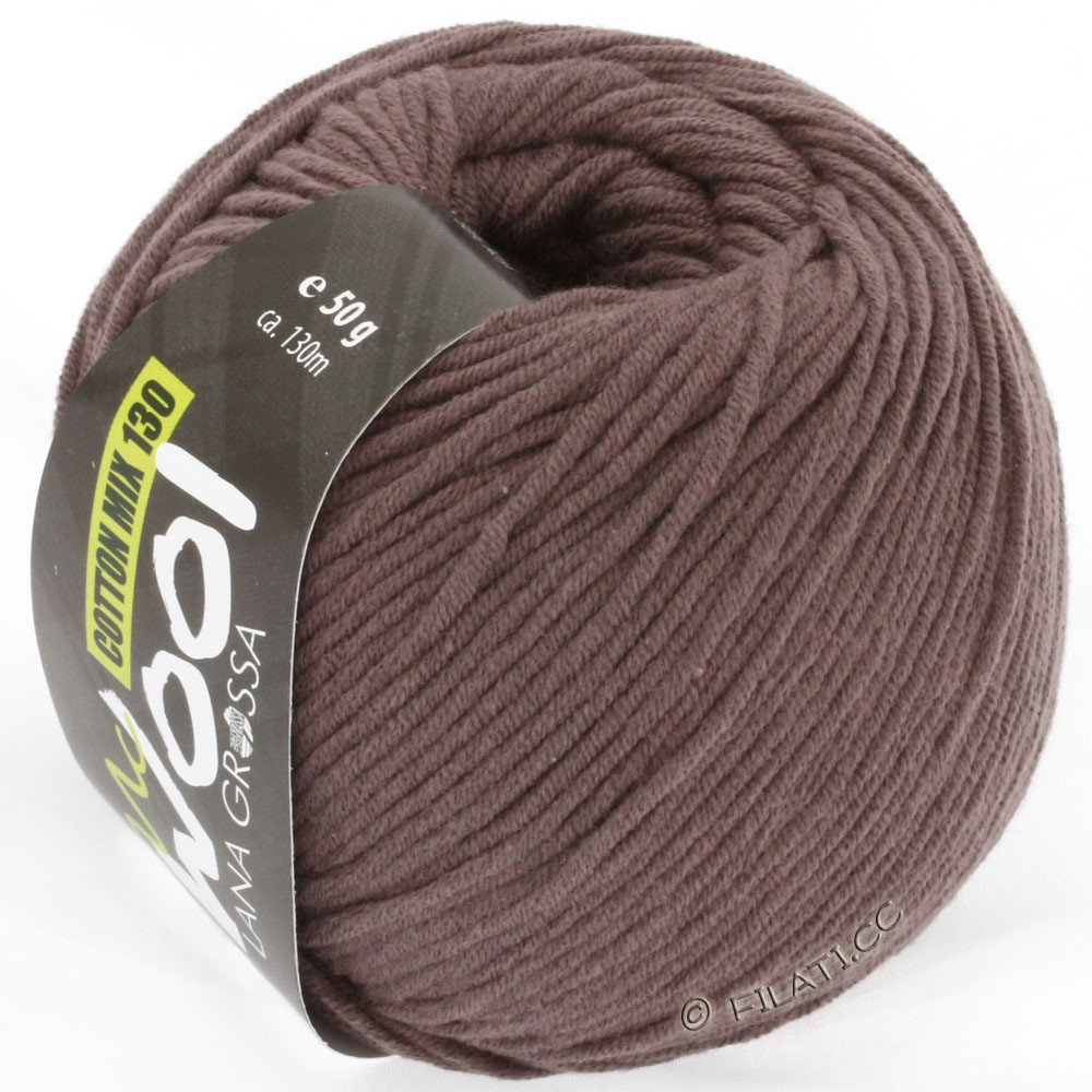 Lana Grossa COTTON MIX 130 (McWool) | 114-серо-коричневый