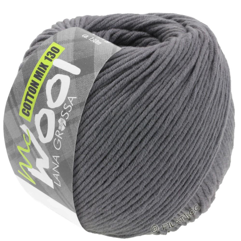 Lana Grossa COTTON MIX 130 (McWool) | 115-тёмно-серый