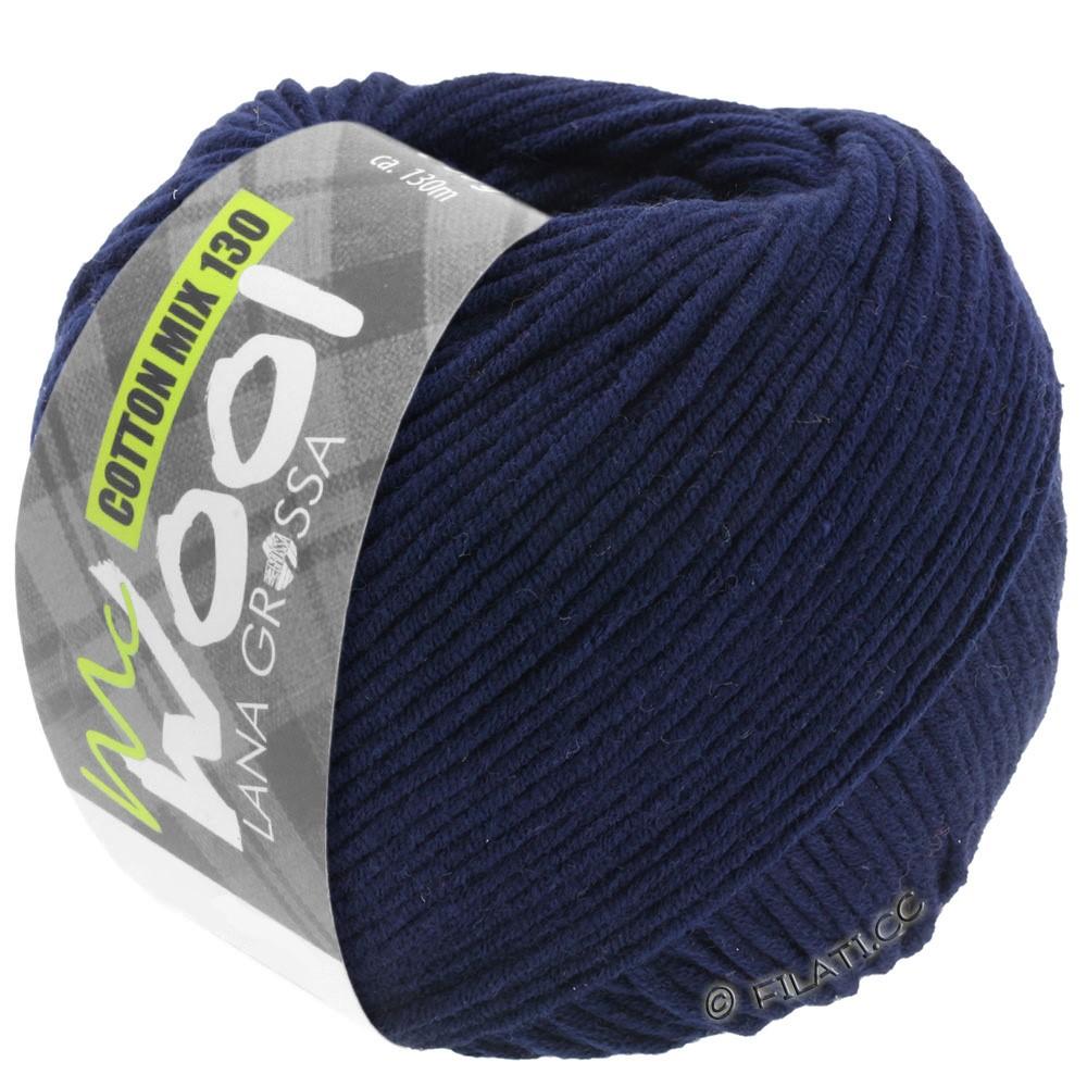 Lana Grossa COTTON MIX 130 (McWool) | 117-тёмно-синий