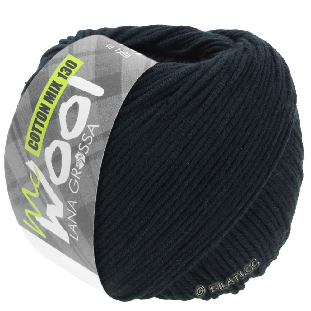Lana Grossa COTTON MIX 130 (McWool) | 118-чёрный