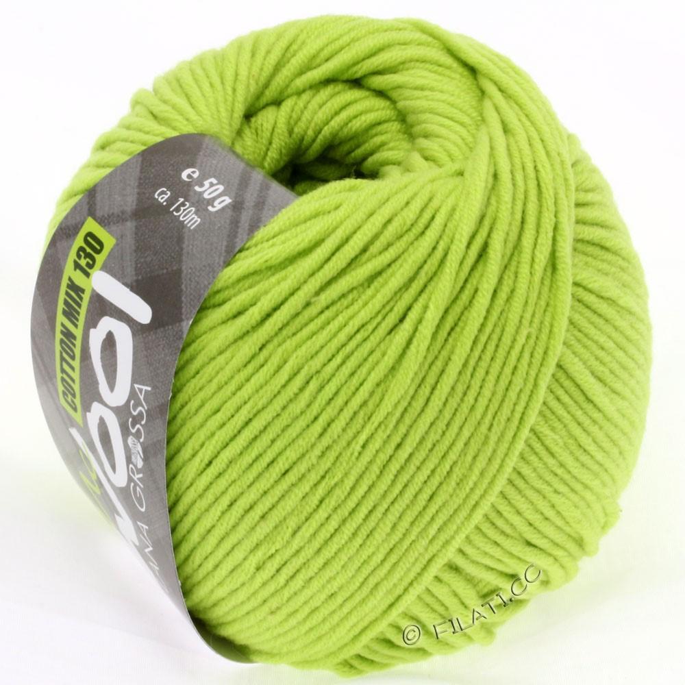 Lana Grossa COTTON MIX 130 (McWool) | 119-жёлто-зеленый
