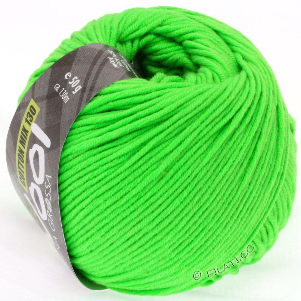 Lana Grossa COTTON MIX 130 (McWool) | 120-неоново-зеленый