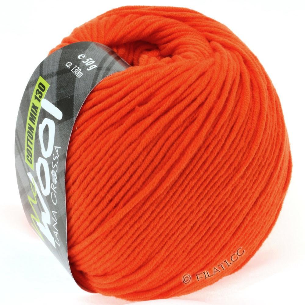 Lana Grossa COTTON MIX 130 (McWool) | 125-мандариновый