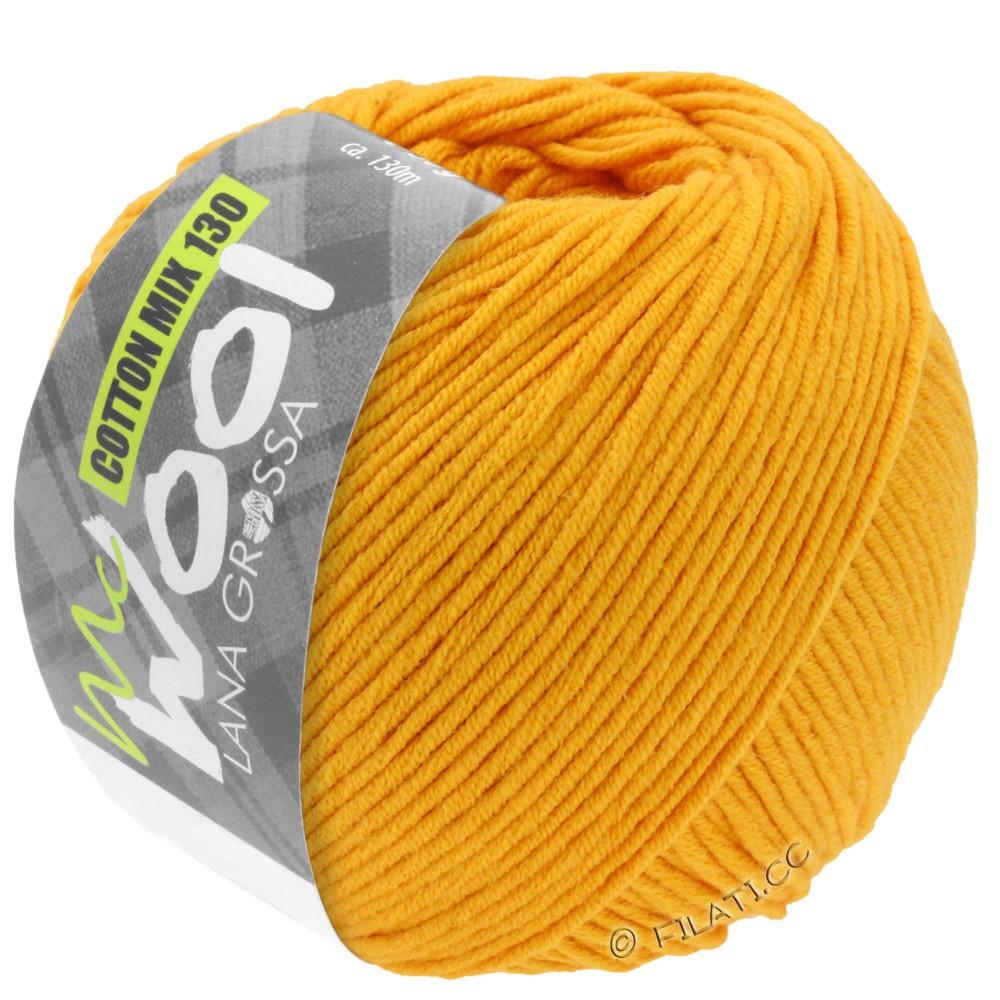 Lana Grossa COTTON MIX 130 (McWool) | 127-жёлтая кукуруза