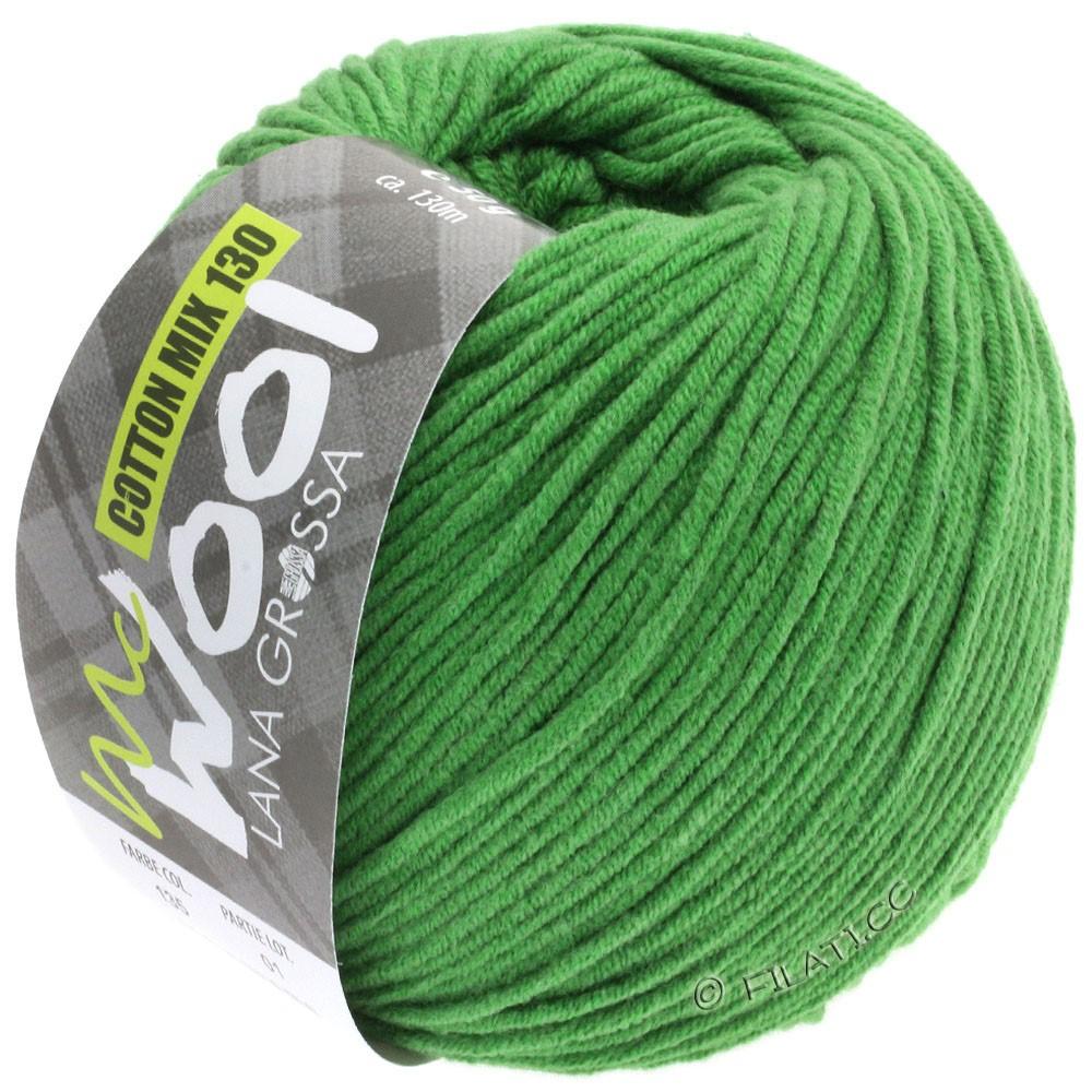 Lana Grossa COTTON MIX 130 (McWool) | 135-зеленый, как трава