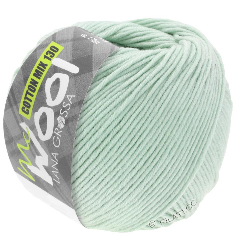 Lana Grossa COTTON MIX 130 (McWool) | 136-мягко-зеленый