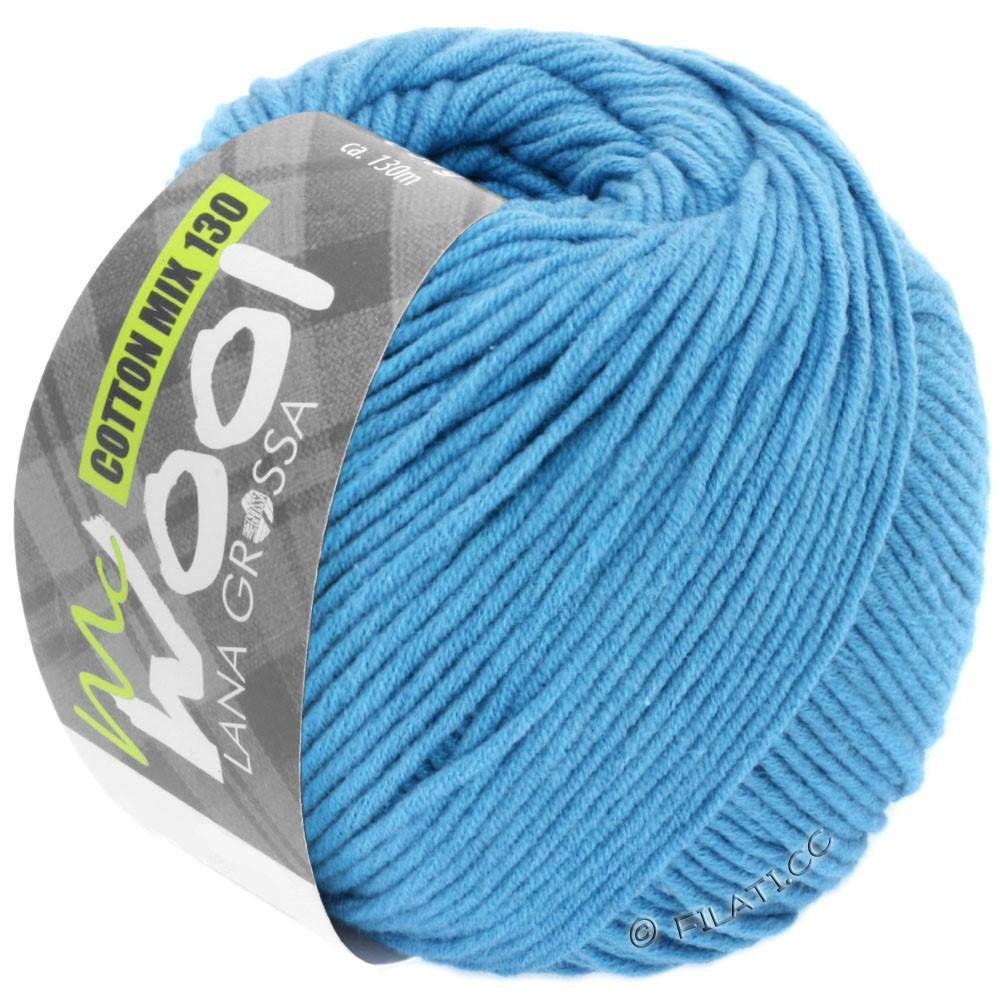 Lana Grossa COTTON MIX 130 (McWool) | 137-голубой