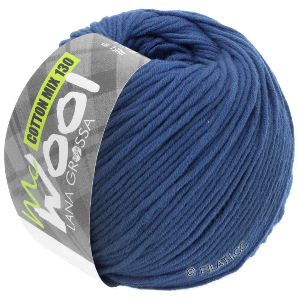 Lana Grossa COTTON MIX 130 (McWool) | 138-королевский