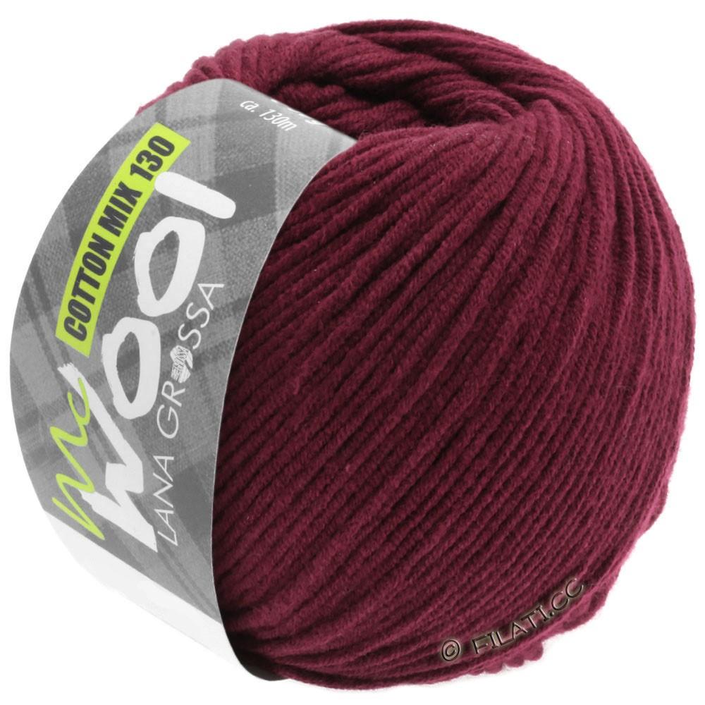 Lana Grossa COTTON MIX 130 (McWool) | 142-бордо