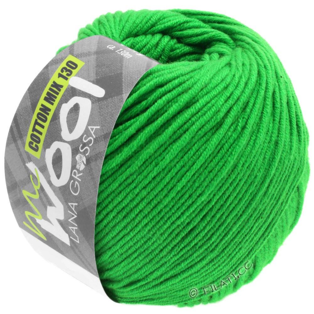 Lana Grossa COTTON MIX 130 (McWool) | 143-зеленый