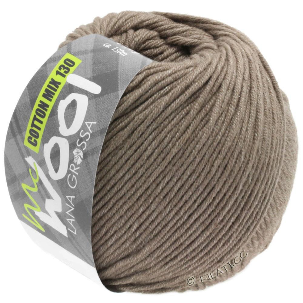 Lana Grossa COTTON MIX 130 (McWool) | 144-бежево-коричневый