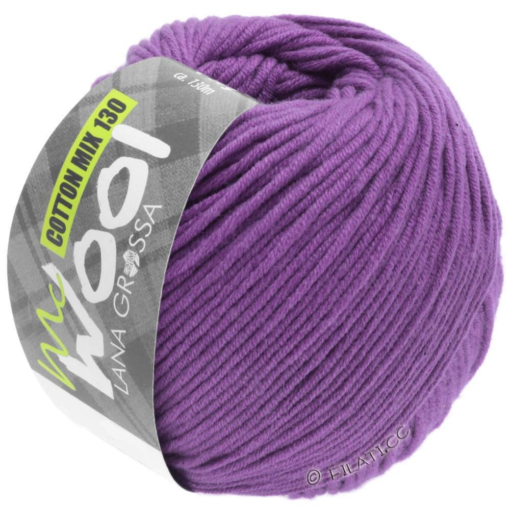 Lana Grossa COTTON MIX 130 (McWool) | 147-фиолетовый