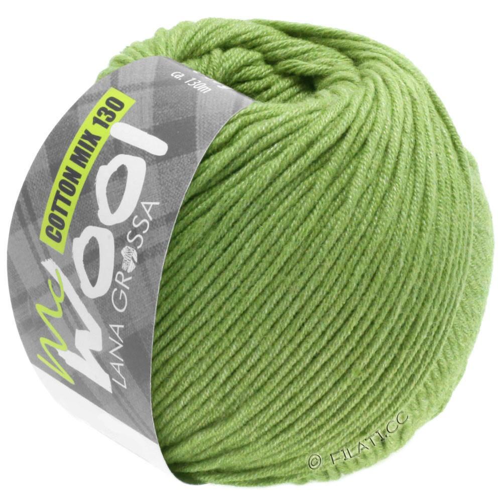 Lana Grossa COTTON MIX 130 (McWool) | 152-пастельно-зелёный