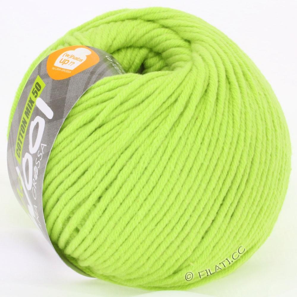 Lana Grossa COTTON MIX 50/100г  (McWool) | 02-светло-зелёный