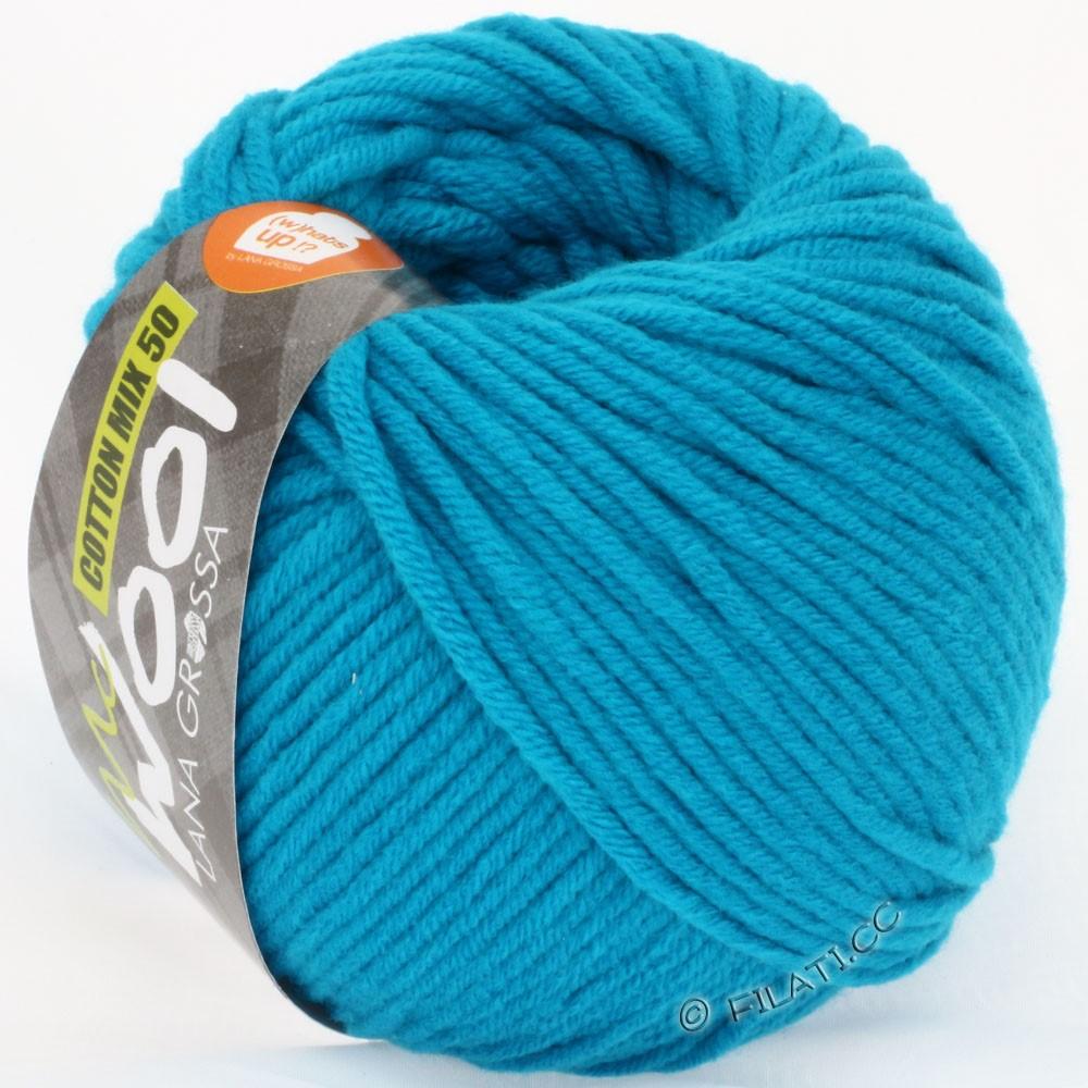 Lana Grossa COTTON MIX 50/100г  (McWool) | 03-сине-бирюзовый