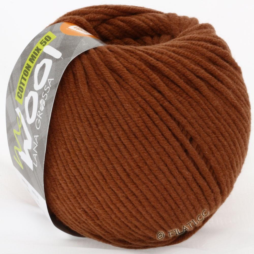 Lana Grossa COTTON MIX 50/100г  (McWool) | 09-коричневый