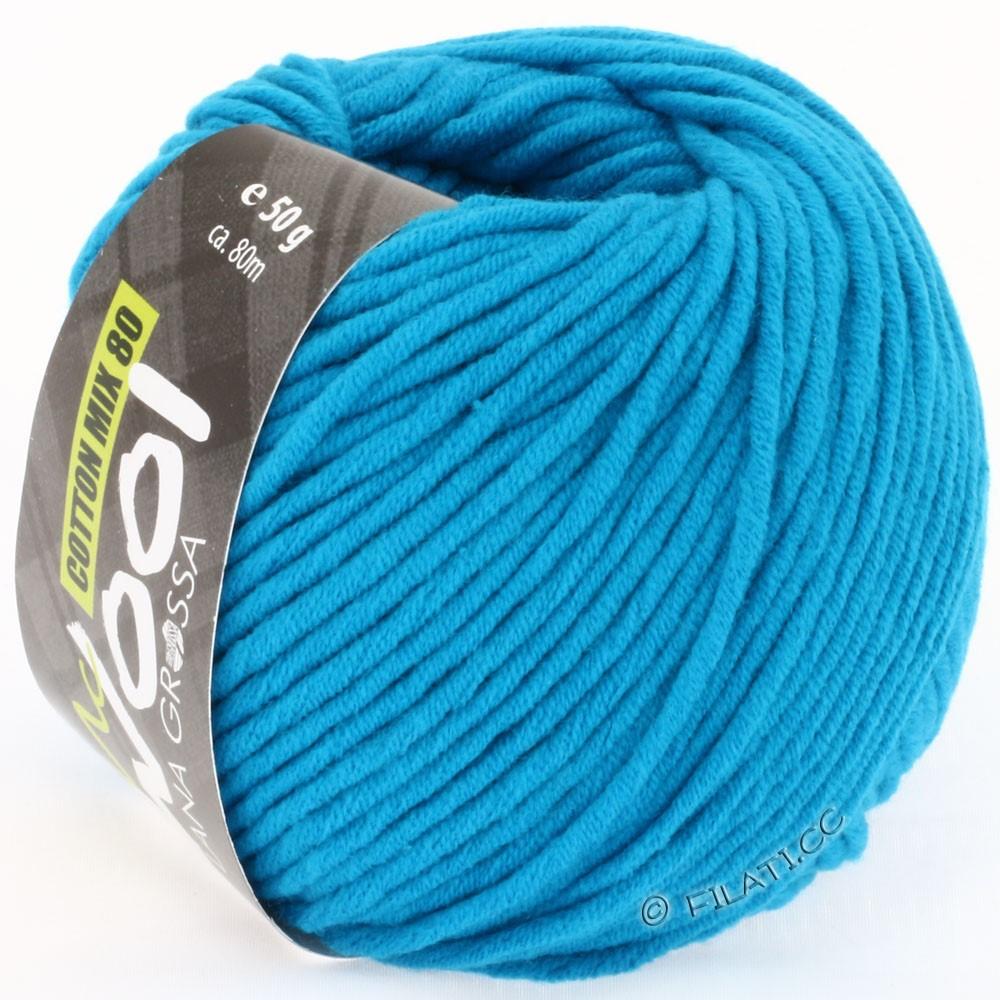 Lana Grossa COTTON MIX 80 (McWool) | 506-бирюзовый синий