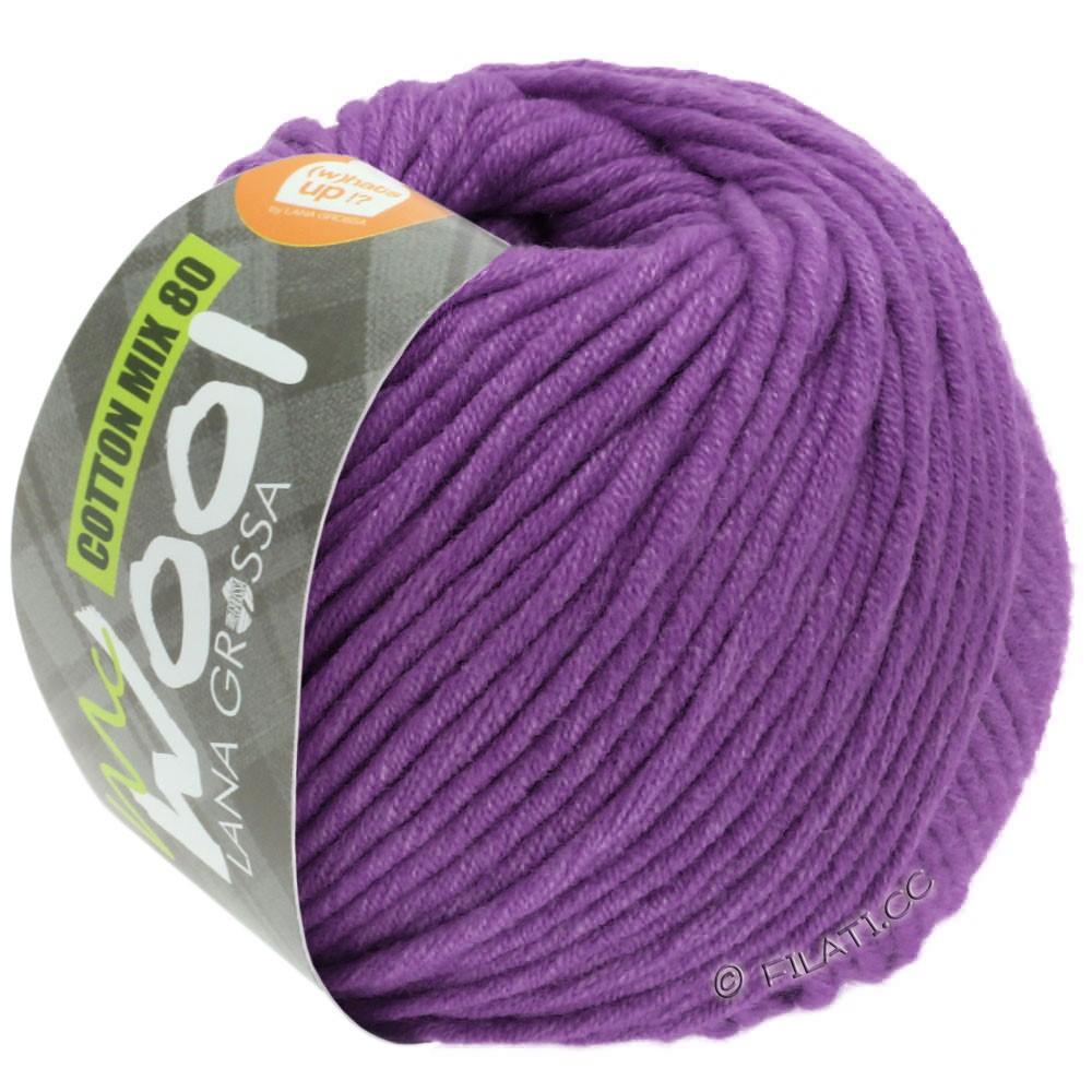 Lana Grossa COTTON MIX 80 (McWool) | 547-фиолетовый