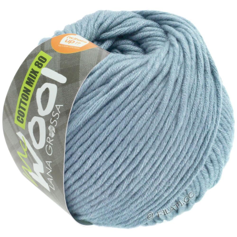 Lana Grossa COTTON MIX 80 (McWool) | 550-светло-голубой