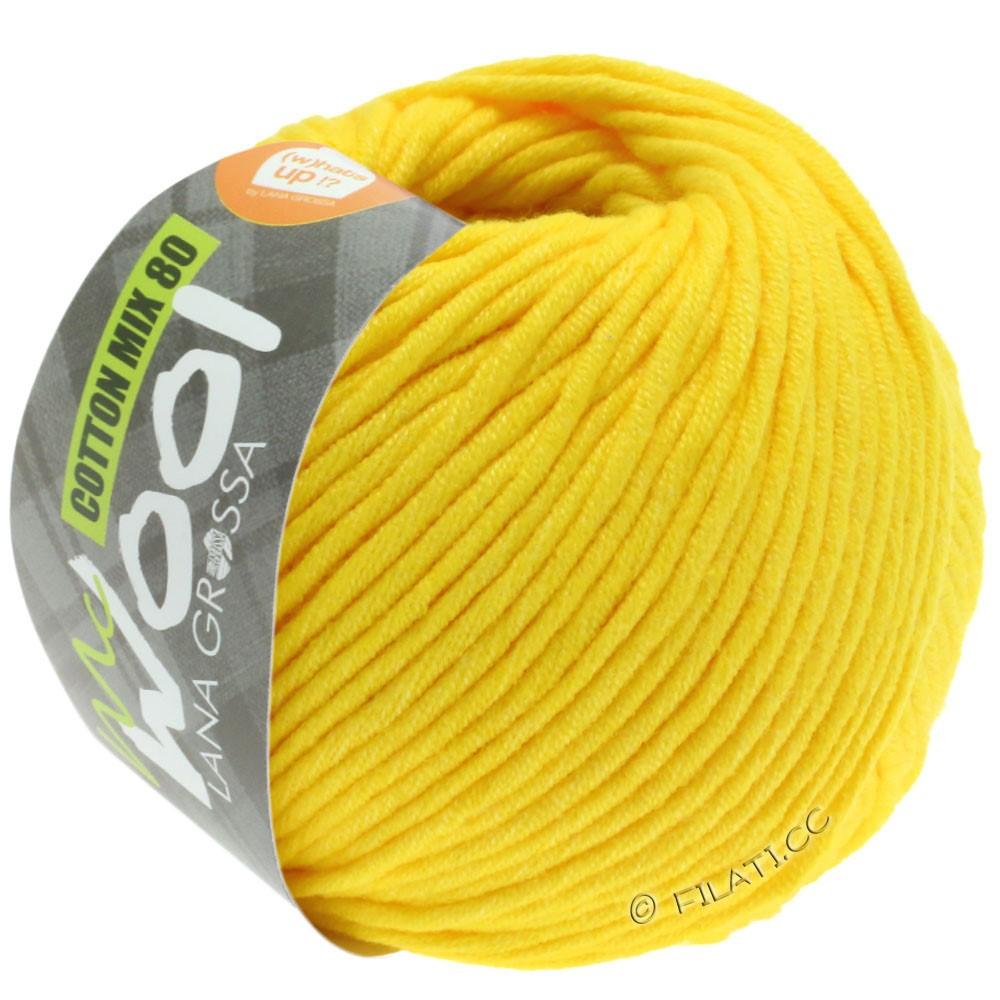 Lana Grossa COTTON MIX 80 (McWool) | 551-жёлтый